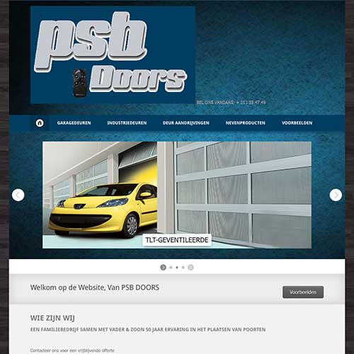 psb doors / webdesign-bb